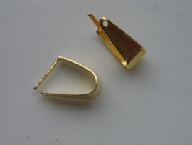 5 x bails driehoek ringetjes voor aan hanger 6652