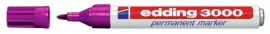 CE393000/0020- Edding-3000 permanent marker met punt van 1.5-3mm rood violet