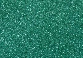 7904 553- magneetfolie A4 21x30cm turqoise met glitter