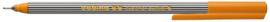 CE390055/0006- edding-55 fineliner met punt van 0.3mm oranje