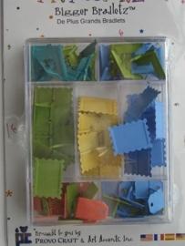 5511- Art Accentz doosje met 72 stuks bradletz (splitpennen)