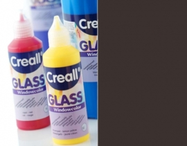0-CE301801/0114- Creall Glass CONTOUR - glasstickerverf - window color - 80ML zwart