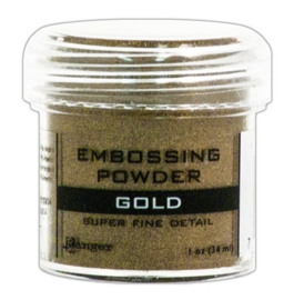 CE306305/7408- Ranger embossing powder 34ml - super fine gold