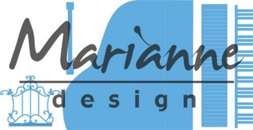 nr.-115639/4501- Marianne Design creatables piano
