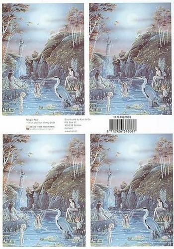 kn/1545- A4 knipvel Fairyland magic pool - 117140/2003
