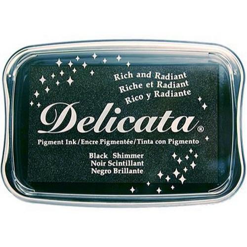 CE132024/0382- Delicata inktkussen black shimmer