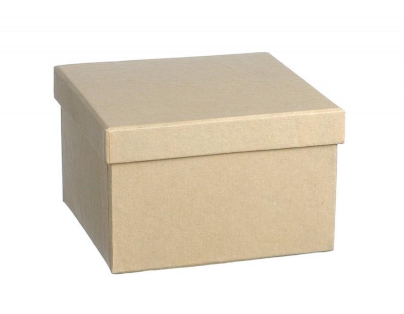 8735 792- 5 stuks ecoshape dozen vierkant 11.5x11.5x7.5cm
