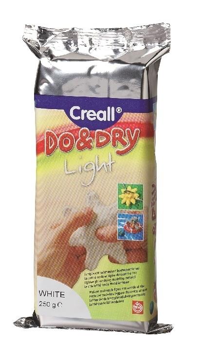 CE810105/6025- boetseerklei Do&Dry light wit 250gram