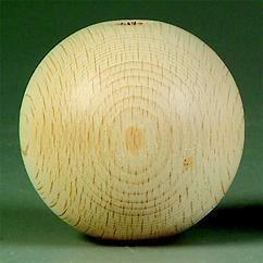KN218619159- 500 stuks houten ballen / houten kralen van 15mm AA-kwaliteit