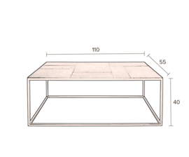 Coffee Table Lee Dutchbone