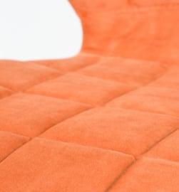 OMG Zuiver Stoel Oranje Fluweel