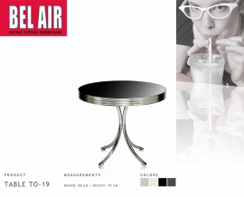 Bel Air Table TO 19