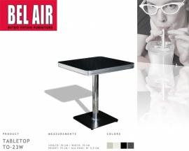 TO-23 Bel Air American Diner tafel