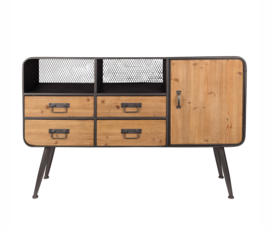 Gin sideboard high industrieel