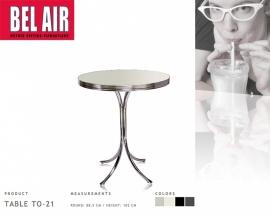 TO-21 Bel Air Diner bar- statafel