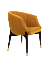 Dolly Armchair Dutchbone Ochre