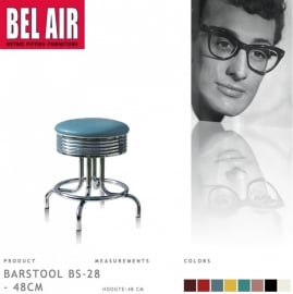 Bel Air kruk BS-28-48 blue