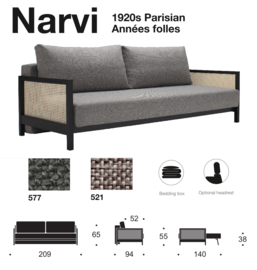 Narvi Parisian Innovation Living 2019