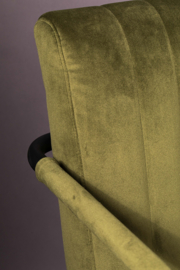 Stitched Stoel Dutchbone Green