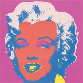POP ART Marilyn Monroe / Andy Warhol