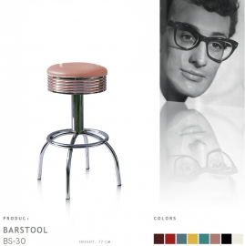 BS-30-77 Bel Air barstool - dusty rose