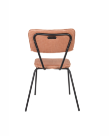 Melonie retro stoel pink