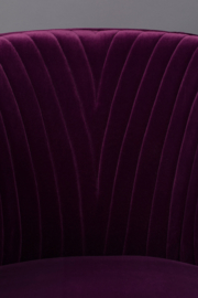 Dolly Armchair Dutchbone Purple