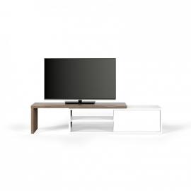 Move TV meubel walnoot/wit