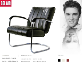 LC-01 LTD Lounge Chair Black