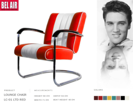 LC-01 Lounge Chair Red