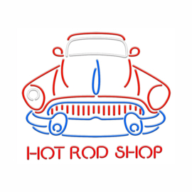 Hot Rod Shop Neon NHRS