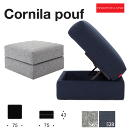 Cornila Pouf Innovation Living 2019