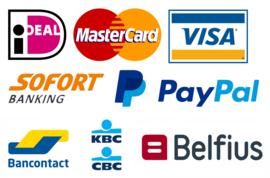 Bestellen, betaalmethodes
