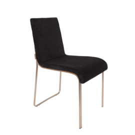 Flor Chair Zwart Dutchbone