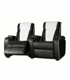 Home Cinema double chair black