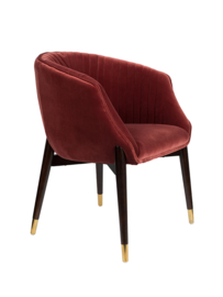 Dolly Armchair Dutchbone Burgundy
