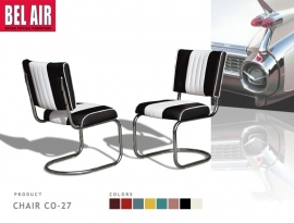Bel Air Diner chair CO-27 zwart