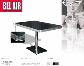TO-22 Bel Air retro 50ies diner tafel