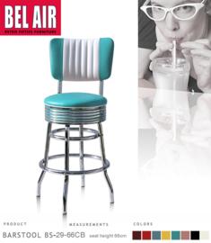Bel Air BS-29-CB 66 Fifties kruk Turquoise