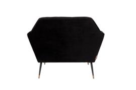 Kate Lounge Chair Black Dutchbone