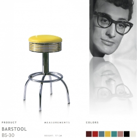 BS-30-77 Bel Air barstool - yellow