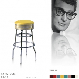 BS-29-77 Bel Air barstool - yellow