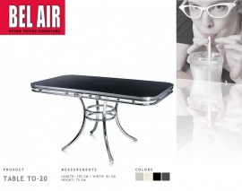 TO-20- Bel Air eettafel - Blackstone