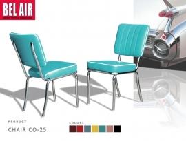 Vintage stoel CO-25 turqoise