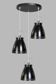 Acate hanglamp ronde plaat