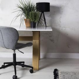 OMG bureaustoel op wieltjes