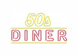 50's Diner Neon Bel Air