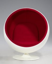 Ballchair WIT | ROOD