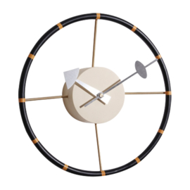 Nelson Replica Wheel clock