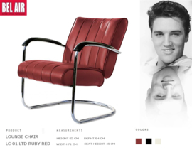 LC-01 LTD Lounge Ruby Red